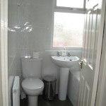 bathroom ; shower over bath , student house, Canley / Tile Hill, Coventry