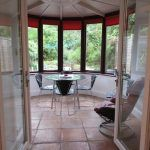conservatory from lounge, student house, Kenilworth,