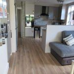 open plan lounge / kitchen, student house, Kenilworth,