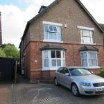 front ; parking for 2 cars off road, student house, Kenilworth,