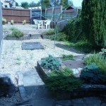 maintained garden and patio, student house, Canley / Tile Hill, Coventry