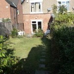 maintained garden, student house, Kenilworth,