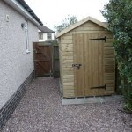 shed for bikes, student house, Canley / Tile Hill, Coventry