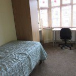 Bedroom 3 single bed, student house, Canley / Tile Hill, Coventry