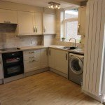 Kitchen open plan to lounge, student house, Canley / Tile Hill, Coventry
