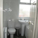 bathroom ; shower over bath , student house, Canley / Tile Hill, Coventry