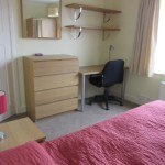 Bedroom 2 ; double bed, student house, Canley / Tile Hill, Coventry