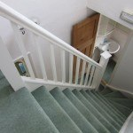 Top floor stairs / toilet on 1st floor , student house, Kenilworth,