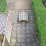 rear garden, student house, Canley / Tile Hill, Coventry